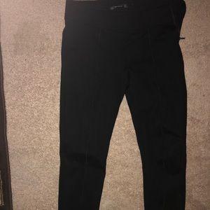Black Zara legging pants